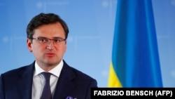 Ukrainian Foreign Minister Dmytro Kuleba, who has summoned the Belarusian ambassador to Ukraine.