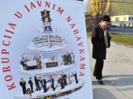 Jedna od antikorupcijskih kampanja u BiH