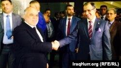 رئيس مجلس النواب سليم الجبوري يستقبل رئيس الوزراء حيدر العبادي