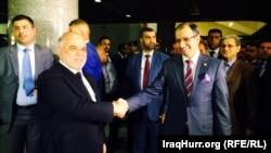 رئيس الوزراء حيدر العبادي ورئيس البرلمان سليم الجبوري