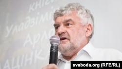Уладзімер Арлоў на прэзэнтацыі кнігі «Patria Aeterna»