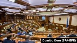 Сесія молдовського парламенту, листопад 2019 року