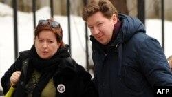 Алексей Козлов с женой Ольгой Романовой