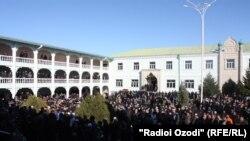 """Масҷиди """"Муҳаммадия"""" дар ноҳияи Ваҳдат"""