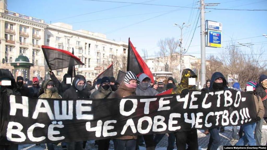 """""""День дезертира"""" в Москве, 23.02.2007"""
