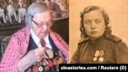 Зинаида Корнева днес и веднага след войната