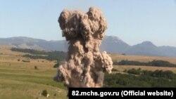 Уничтожение авиабомб в Крыму, иллючтрационное фото