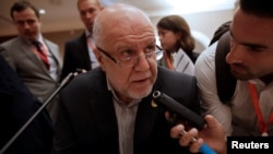 Iranian Oil Minister Bijan Zanganeh announced the OPEC deal to curb production for the first time in eight years.