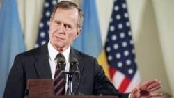 Сьвет разьвітваецца з Джорджам Бушам-старэйшым