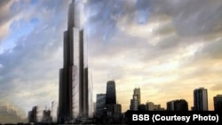 If completed, Sky City will be the world's tallest building.