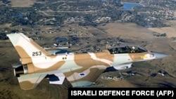 Истребитель F-16 Армии обороны Израиля
