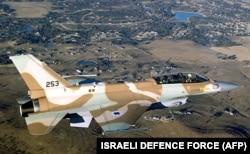 Истребитель-бомбардировщик F-16 ВВС Израиля