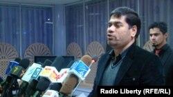 نجیب الله کابلی رئیس حزب مشارکت ملی افغانستان