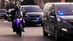 تصویری از فیلم ادعایی تلویزیون ایران درباره نحوه حفاظت از روحالله زم در فرانسه