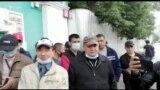 Ўзбек мигрантлари Москва прокуратураси олдида митинг қилди