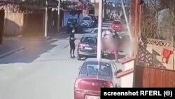 Momentul accidentului (captură video)