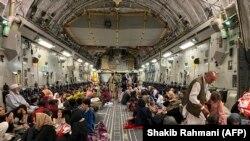 ABŞ hərbi təyyarəsi, Kabil hava limanı, 19 avqust ugust 2021