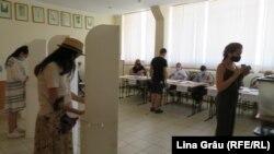 Chișinău, Secția pentru alegătorii din stânga Nistrului de la liceul Gheorghe Asachi