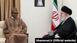 رهبر جمهوری اسلامی ایران، در حاشیه برگزاری مجمع کشورهای صادرکننده گاز با رئیسجمهوری نیجریه، دیدار و گفتوگو کرد
