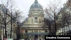 ورودی دانشگاه سوربُن پاریس
