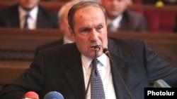 Лидер партии «Армянский национальный конгресс», первый президент Армении Левон Тер-Петросян