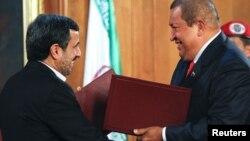 Махмуд Ахмадинежад встритился с президентом Венесуэлы Уго Чавесом