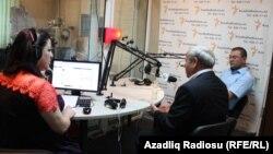 «Ազատություն» ռադիոկայանի Բաքվի ստուդիայում, արխիվ