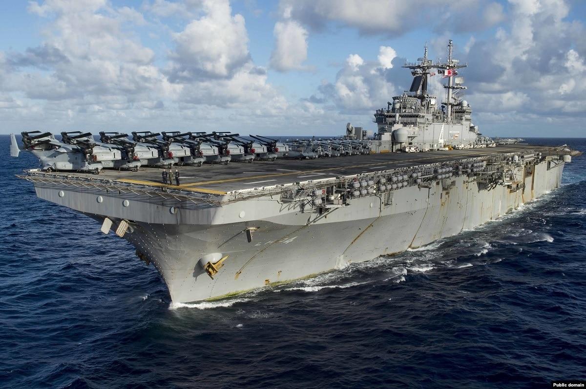 Трамп заявляет, что военный корабль США сбил иранский беспилотник над Ормузским проливом