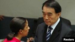 Полномочные представители США и Китая в ООН, 2012