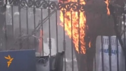 Clashes Continue On Streets Of Kyiv