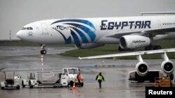 Ҳавопаймои ширкати ҳавоии Миср - Egyptair. 19 майи соли 2016.