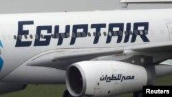 Другой самолет компании EgyptAir в аэропорту в Париже, 19 мая 1016 год
