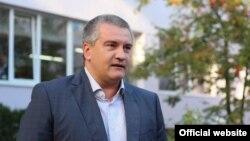 Голова російського уряду окупованого Криму Сергій Аксьонов