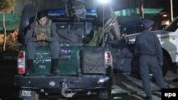 Припадници на авганистанската полиција.