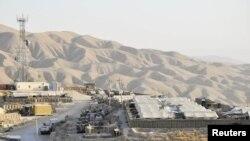 Pamje nga një kamp ushtarak në provincën Baglan në Afganistan