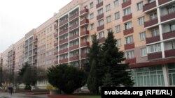 Гомель, дом-інтэрнат №106 ад вуліцы Савецкай