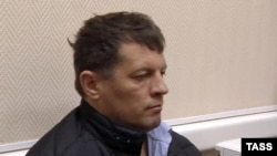 Роман Сущенко після затримання. Москва, 3 жовтня 2016 року