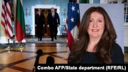 Номинираната за посланик на САЩ в България Херо Мустафа