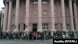 Казан дәүләт тикшеренү технология университетында (КНИТУ-КХТИ) эвакуация