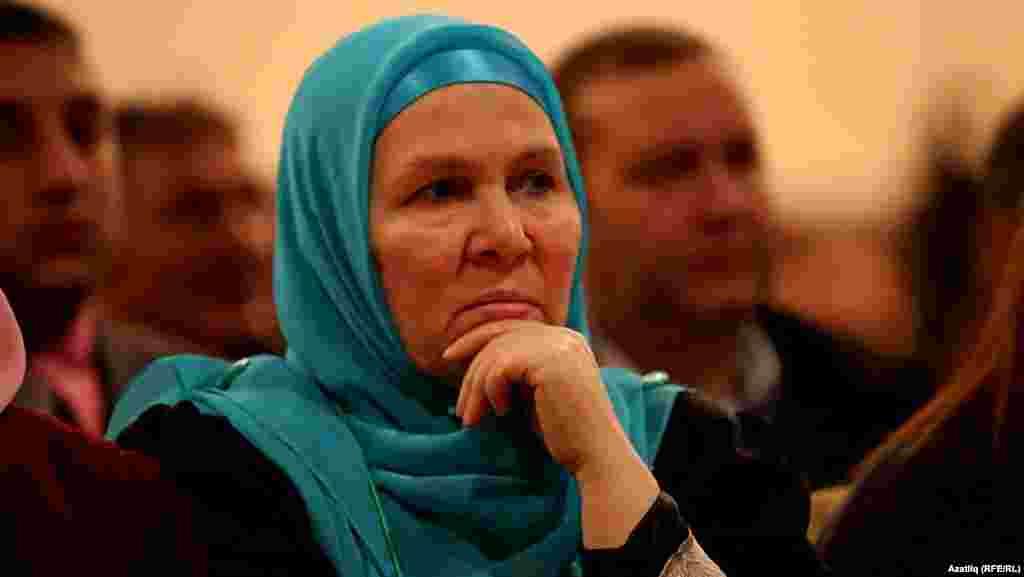 Дөнья татар конгрессының башкарма комитет әгъзасы, язучы Фәүзия Бәйрәмова