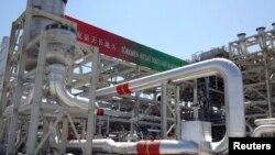 تاسیسات گازی ترکمنستان