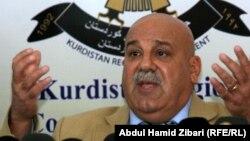 أمين عام وزارة البيشمركة في حكومة اقليم كردستان العراق جبار ياور