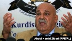 جبار ياور الامين العام لوزارة البيشمركة في حكومة اقليم كردستان العراق