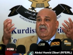 جبار ياور، امين عام وزارة البيشمركة في حكومة اقليم كردستان العراق