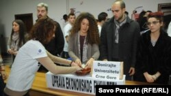 Protest studenata ekonomije