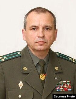 Олександр Баєчка, новий голова Прикордонної служби Білорусі