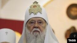 Украина православ шіркеуінің патриархы Филарет.