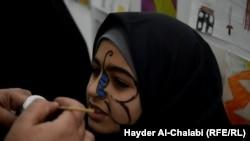 الحلة: من مهرجان الرسم وابداعات ذوي الاحتياجات الخاصة