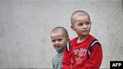 Чеченские дети-беженцы в Польше
