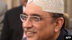 Покистон Президенти Осиф Али Зардорий.